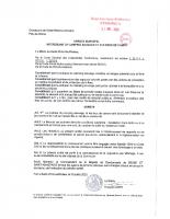 ARR INTERDISANT CAMPING SAUVAGE ET FEUX DE CAMP