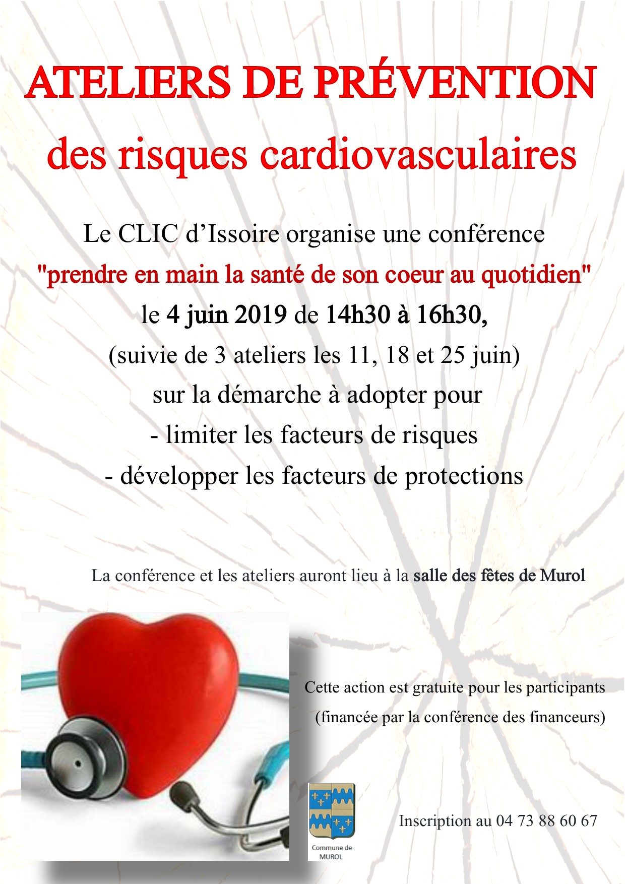 affiche risques cardio